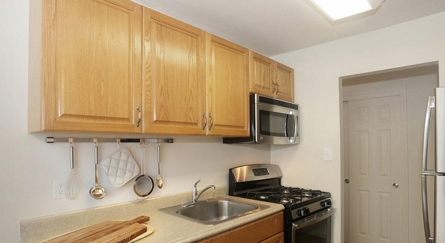 Galley Kitchen at Heatherwood Luxury Rentals