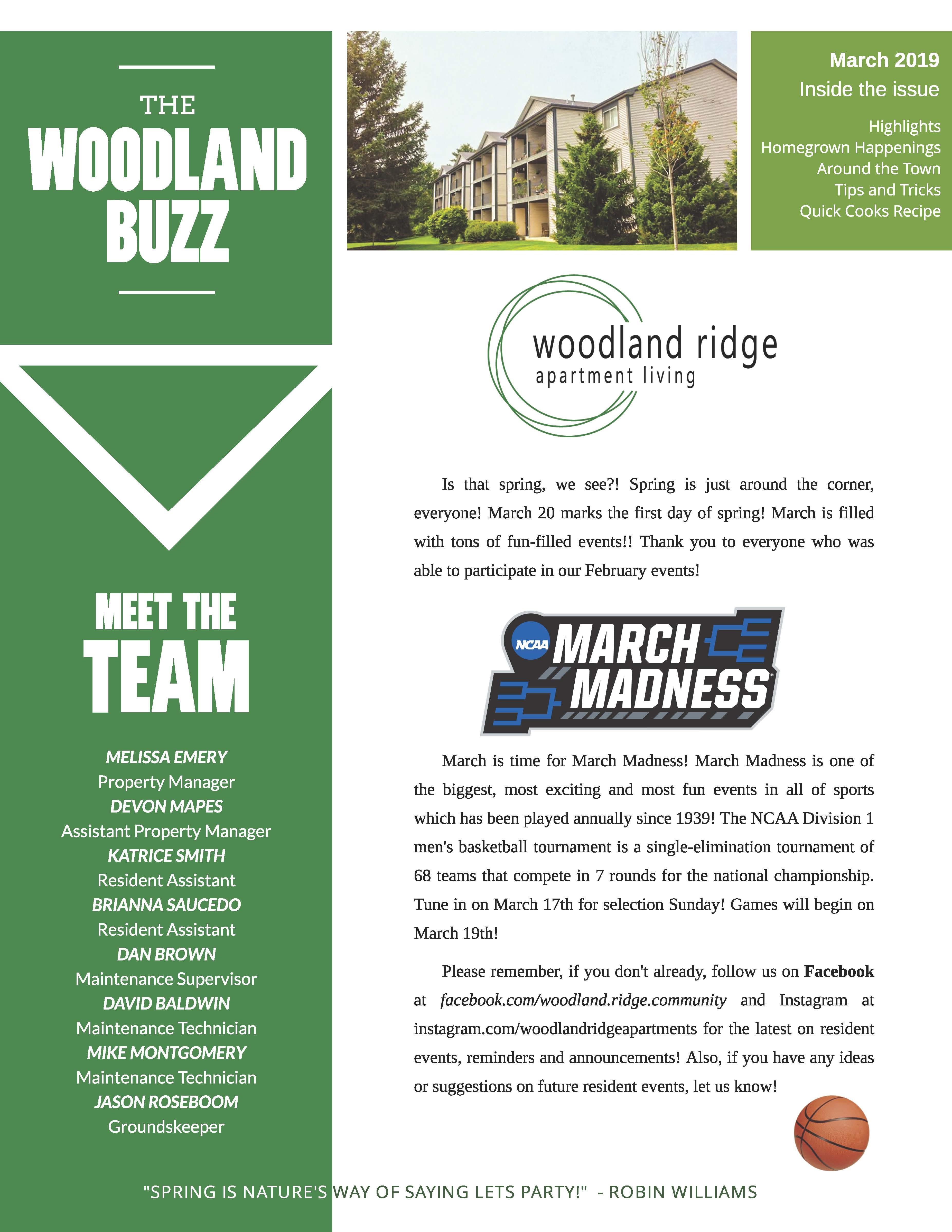 The Woodland Ridge Community
