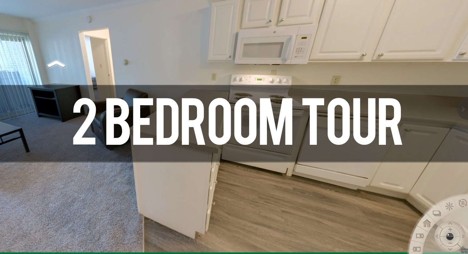 Virtual Tour of Campus View 2 Bedroom Apartment