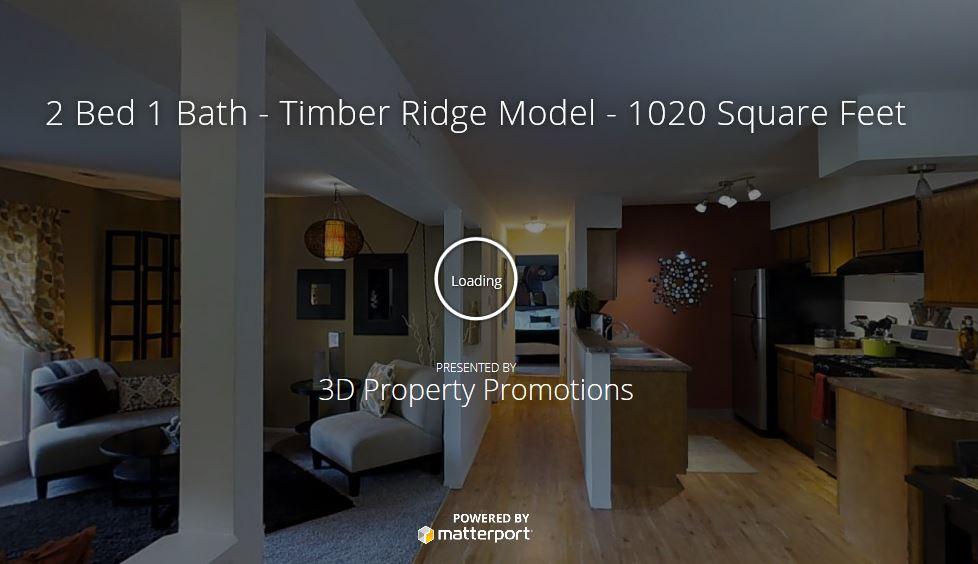 3D Tour of Timber Ridge Model!