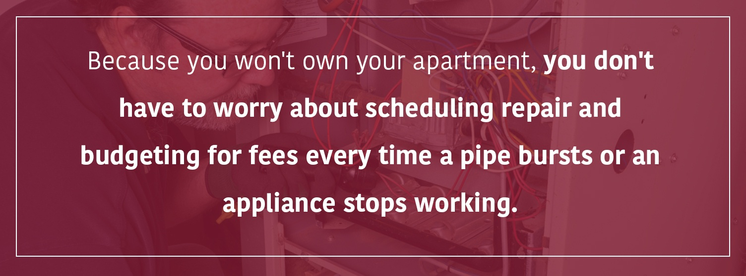 You don't have to pay for repairs | Property Management, Inc.