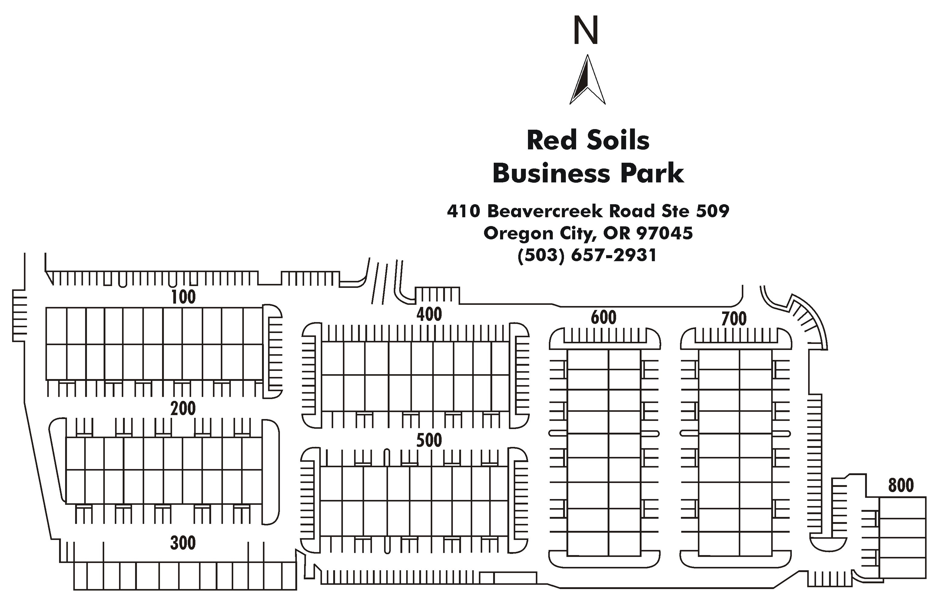Red Soils Business Park Property Map