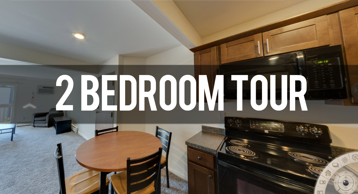2 Bedroom Virtual Tour Eden Rock Apartments in East Lansing | Michigan State University Apartments