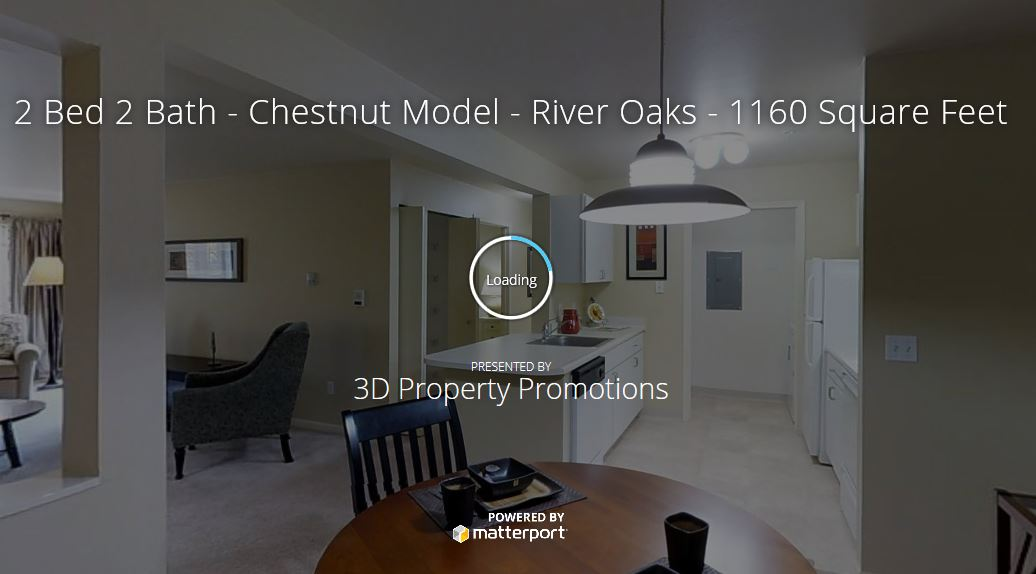 3D Tour of River Oaks Apartments in Kentwood
