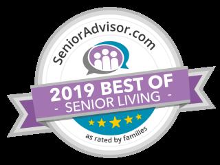 Pacifica Senior Living Tuscon is a SeniorAdvisor.com 2019 Best of Senior Living Winner!