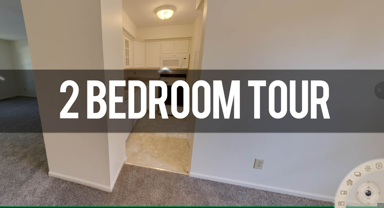 Virtual Tour 2 Bedroom Apartment at Cambria Townhomes