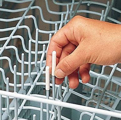Dishwasher caps