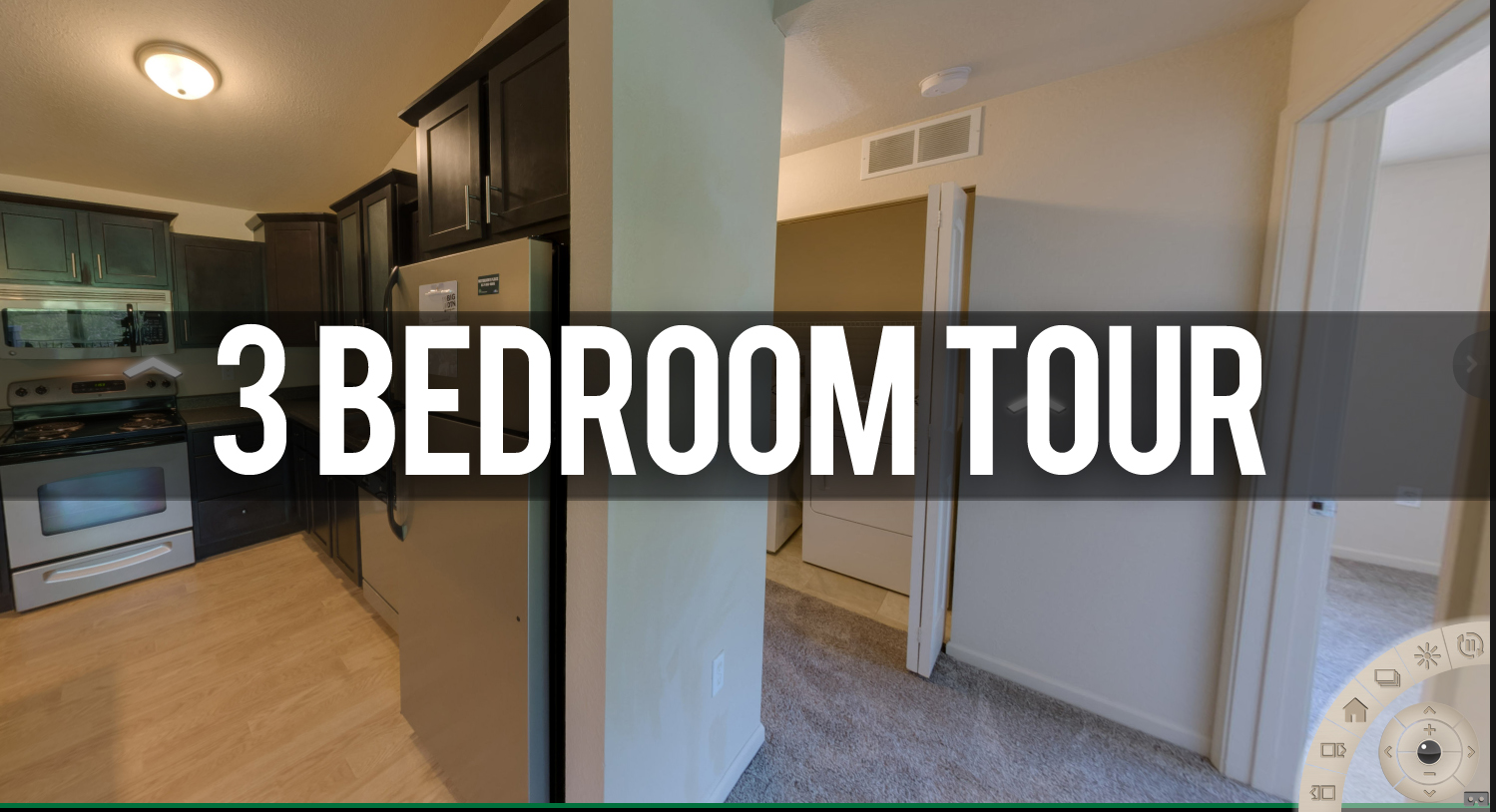 Tour 3 Bedroom Floor Plan at Waterbury Place Apartments near Michigan State University