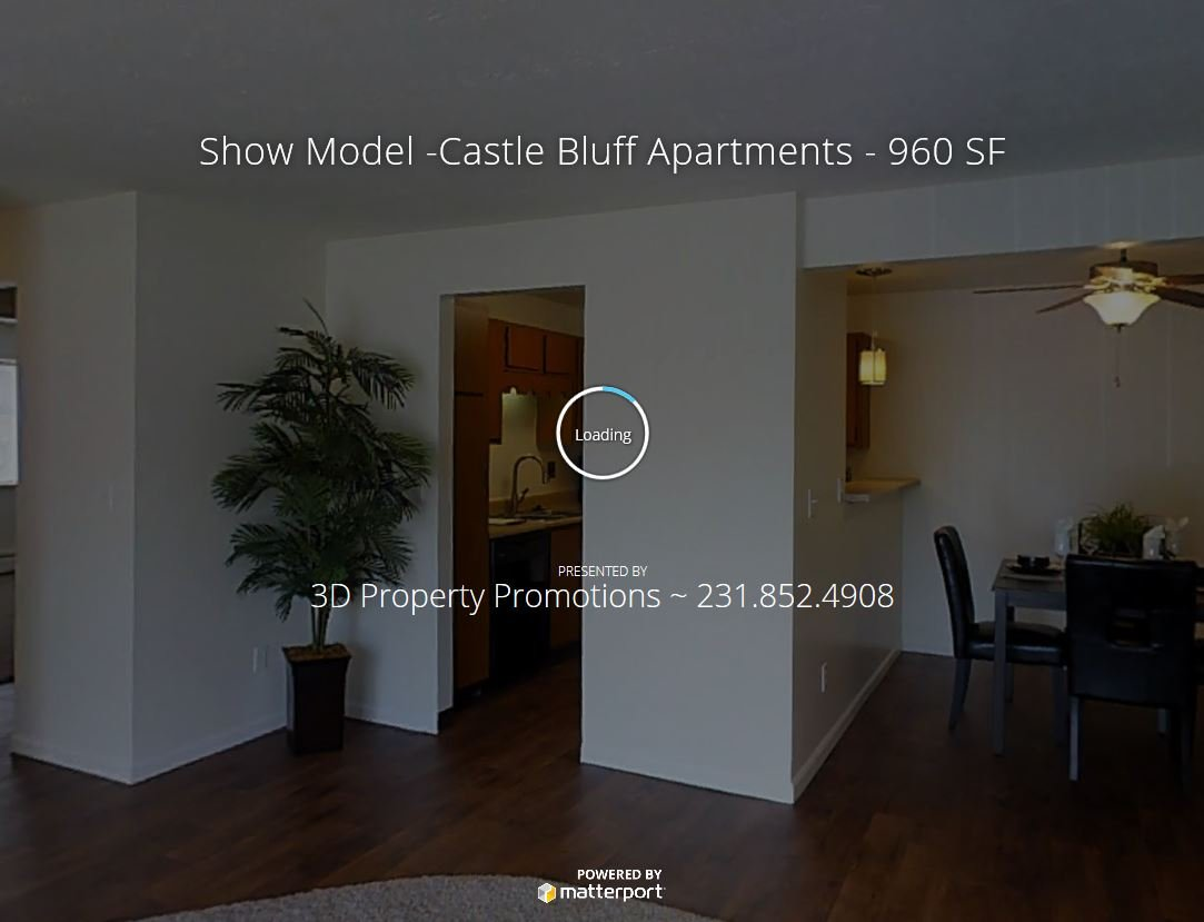 3D Tour of Castle Bluff Apartments in Kentwood