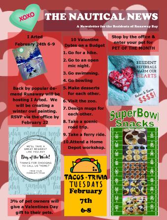 Runaway Bay February 2017 Newsletter