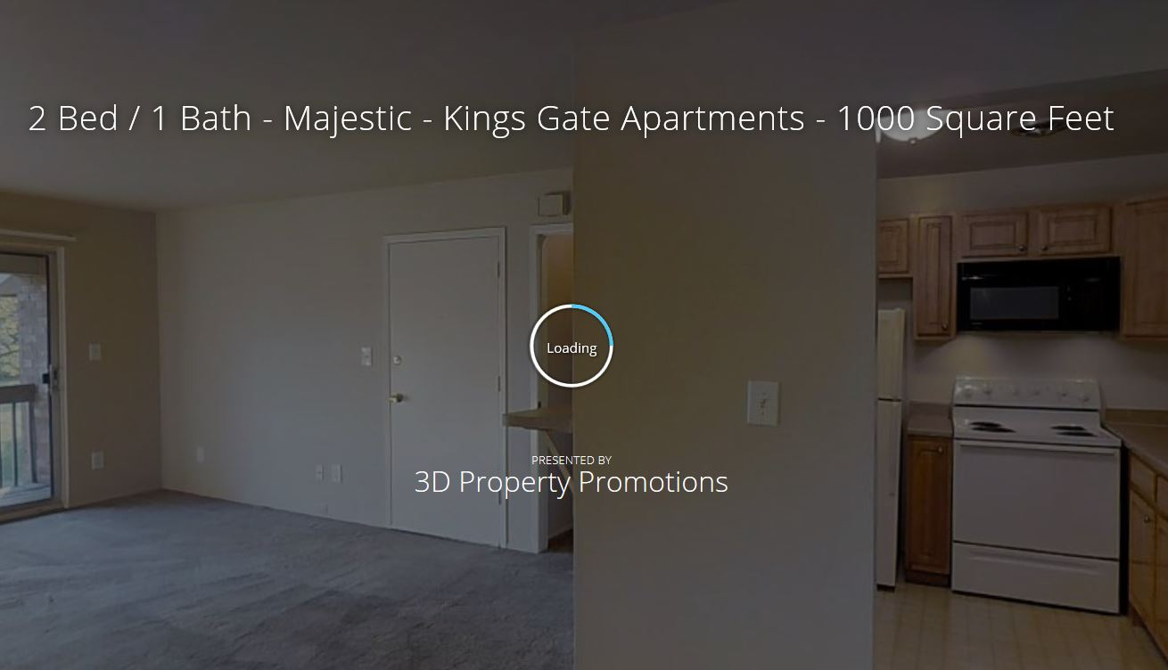 3D Tour of Kings Gate Apartments