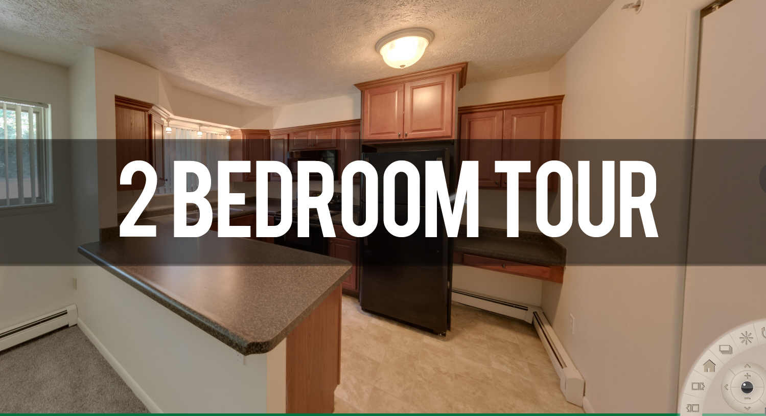 Virtual Tour 2 Bedroom Apartment at Abbott Pointe