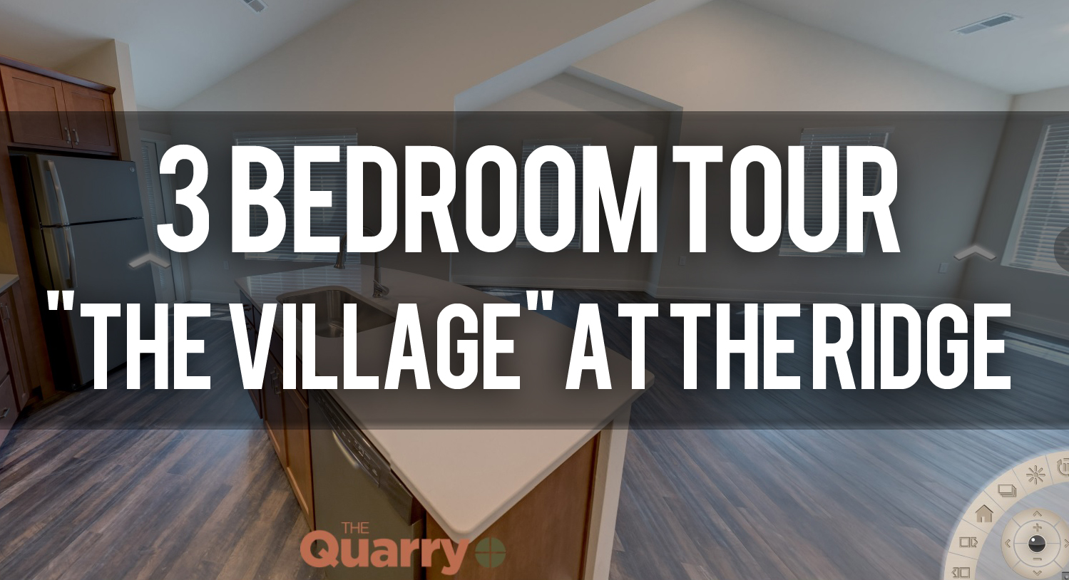 Virtual Tour of the The Village Floorplan at Quarry Apartments