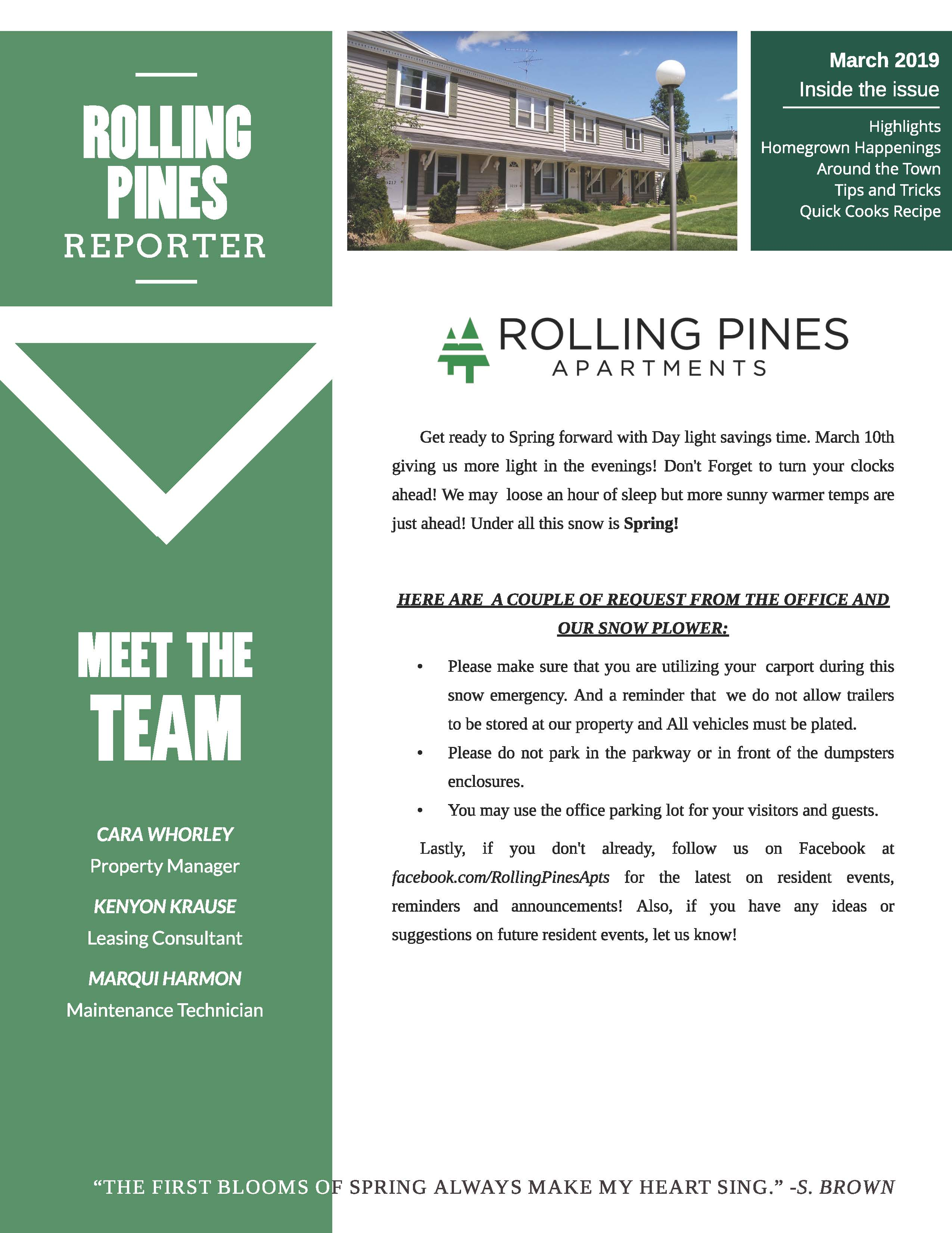 The Rolling Pines Community