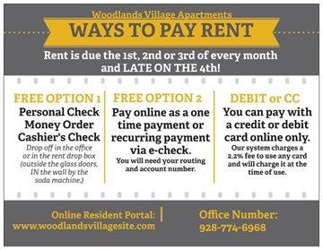 Ways to Pay Rent