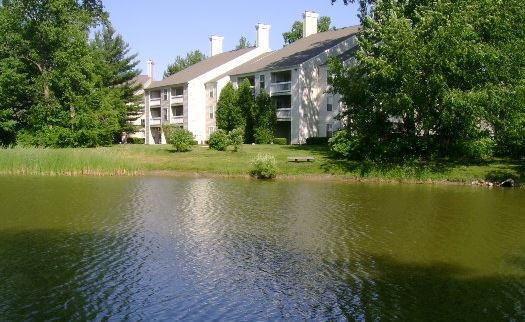 Apartments in Howell with lovely pond views!