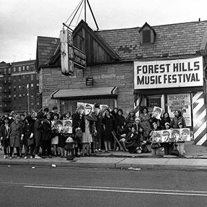 Forest Hills Stadium - Beatles Fans