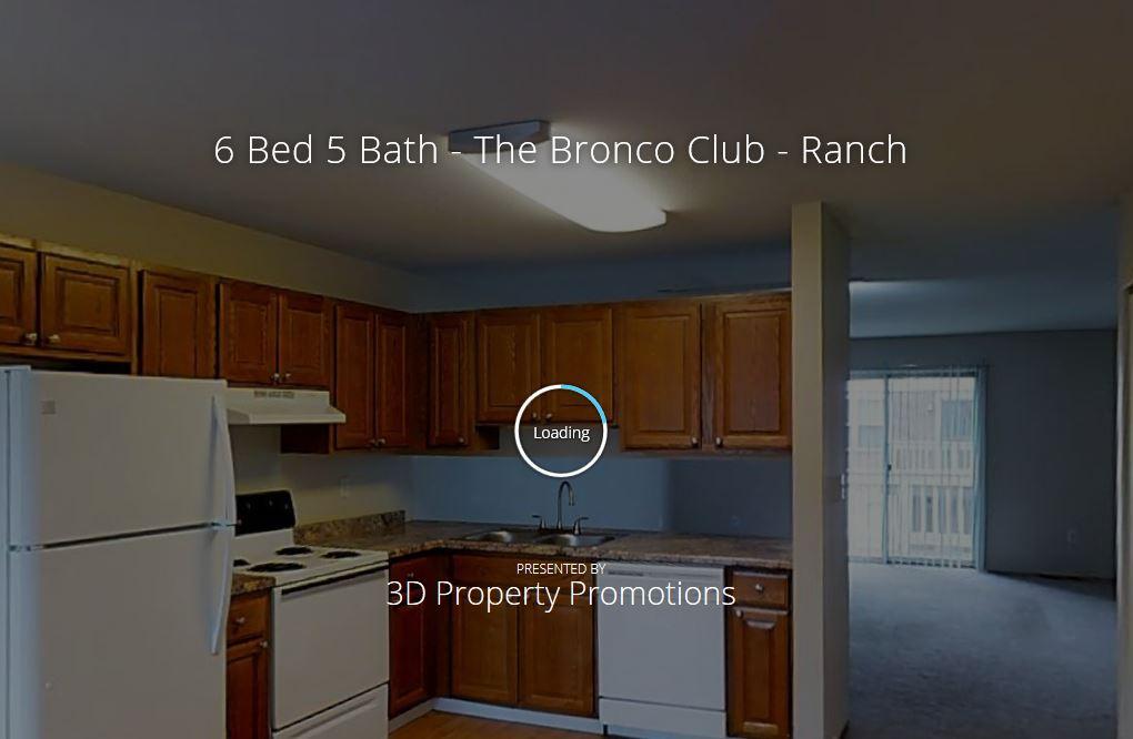 3D Tour of Bronco Club 6 Bedroom