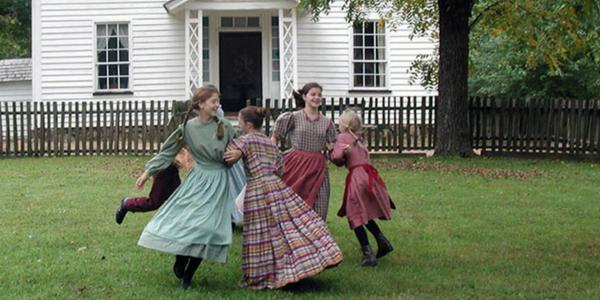 girls dancing at duke homestead