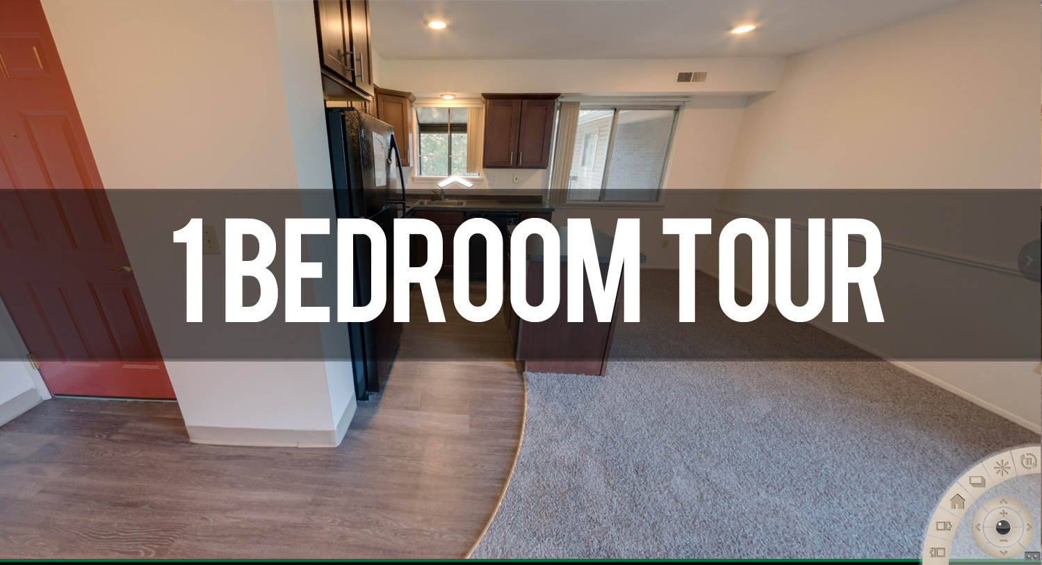 Virtual Tour of 1 Bedroom at Courtyard Flatlets