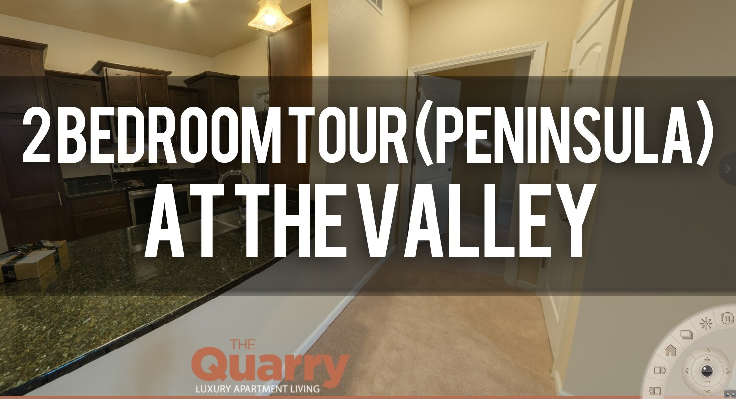 Virtual Tour of The Quarry Apartments Valley 2 Bedroom Peninsula Kitchen