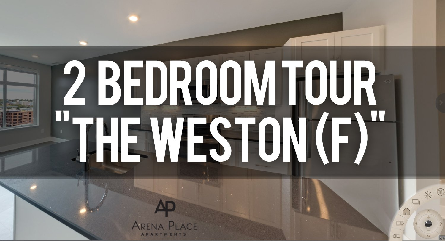 Virtual Tour of Weston 2 Floorplan at Arena Place Apartments