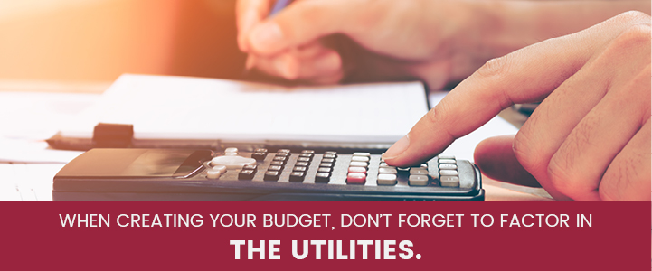 Factor utilities in apartment budget in Harrisburg, PA | Property Management, Inc.
