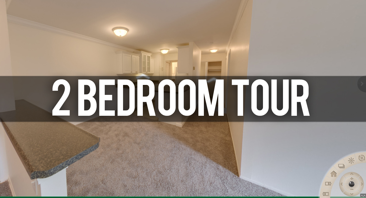 Virtual Tour 2 Bedroom Apartment at Berrytree Apartments in Okemos, MI