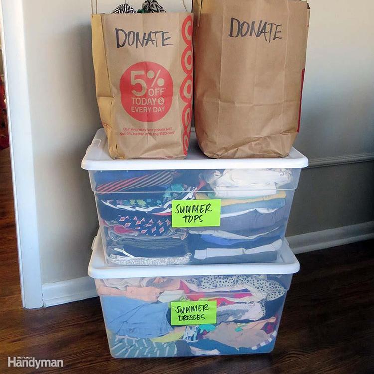Donate bags