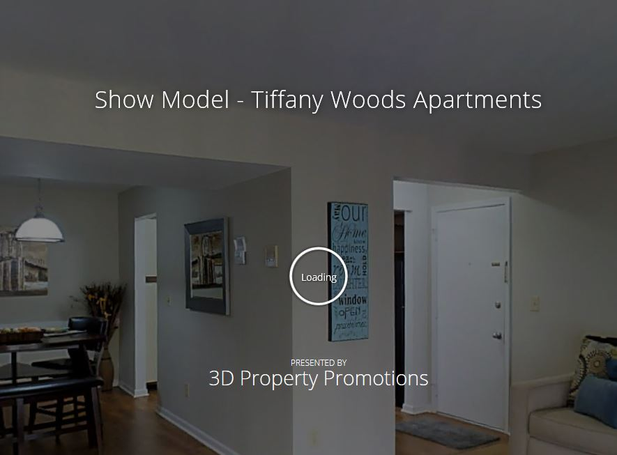 3D Tour of Tiffany Woods Apartments
