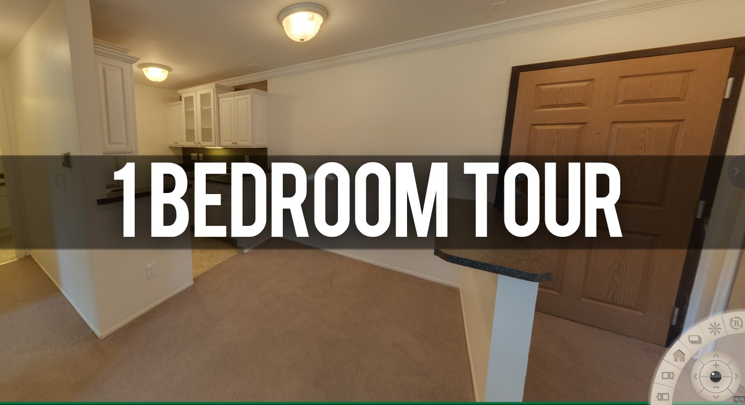 Virtual Tour 1 Bedroom Apartment at Berrytree Apartments in Okemos, MI