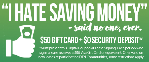 Save Money at Participating Communities