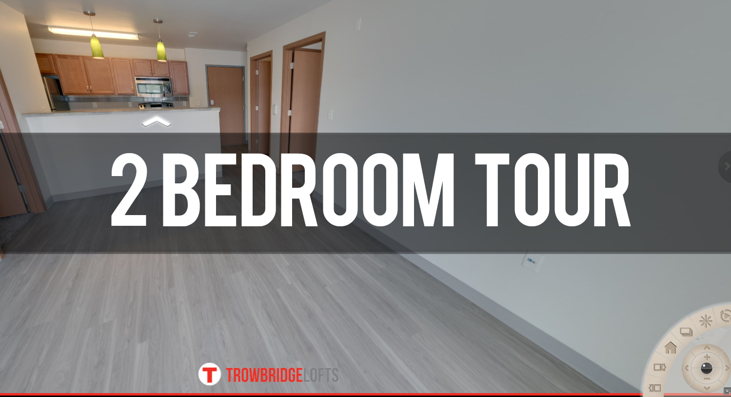 Virtual Tour of 2 Bedroom Apartment at Trowbridge Lofts Apartments