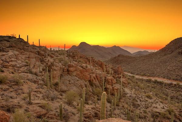 Mountain range in AZ