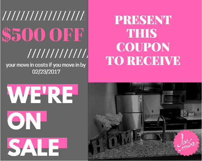 WOW Save $500 if you Move-In by 2/23!