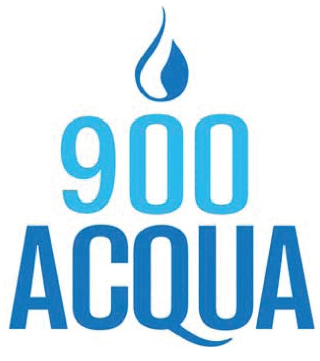 900 Acqua Waterdrop Logo