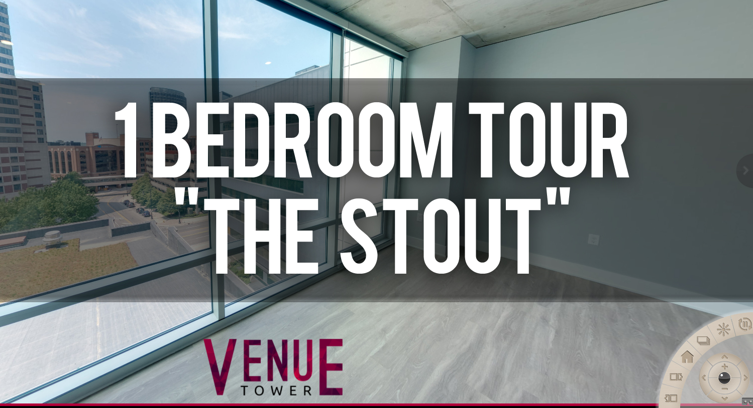 Virtual Tour The Stout Floorplan at Venue Tower Apartments