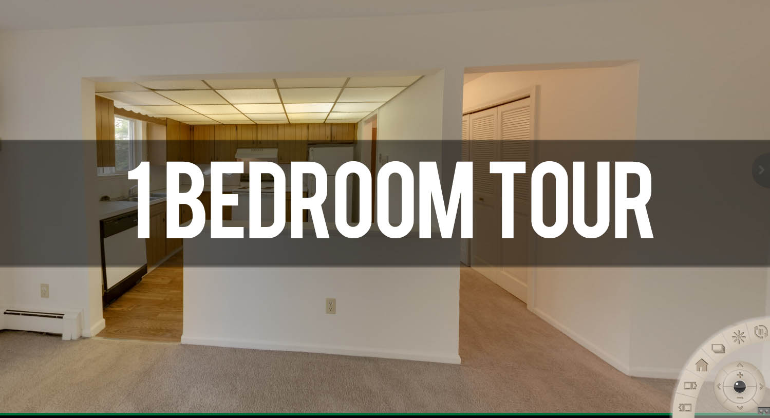 Virtual Tour 2 Bedroom Apartment at Auburn Place