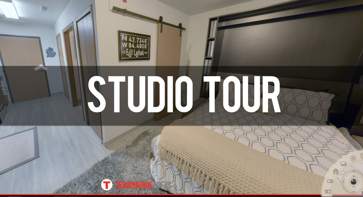 Virtual Tour of Studio at Trowbridge Lofts Apartments