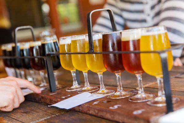 Enjoy local craft beer!