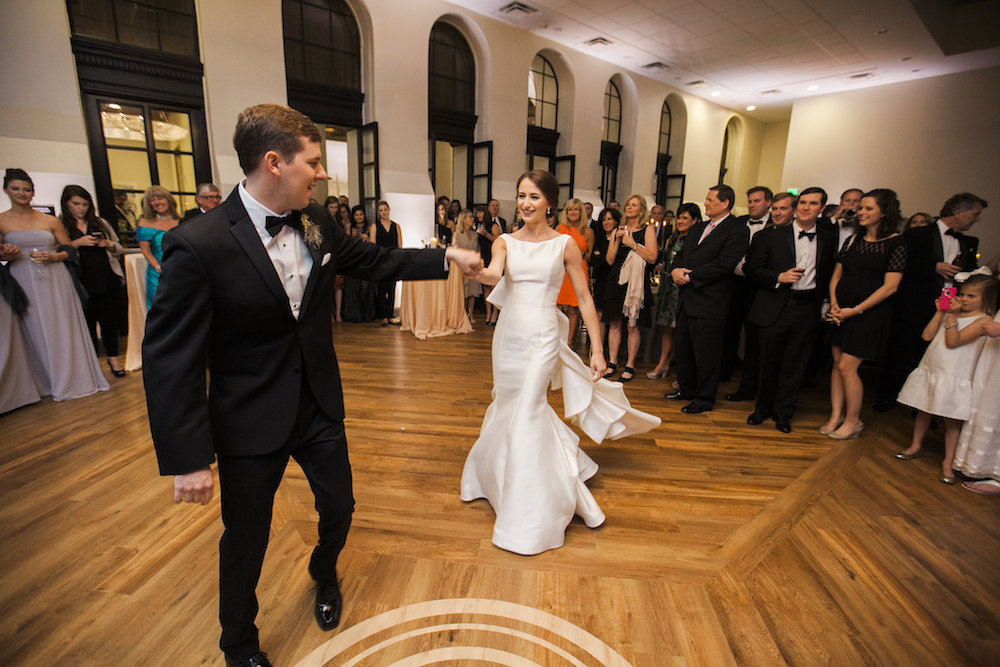 Event Space Wedding reception at Thomas Jefferson Tower apartments in Birmingham, AL 35203