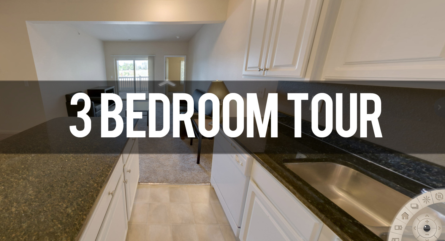 Virtual Tour of Riverwalk Apartments 3 Bedroom