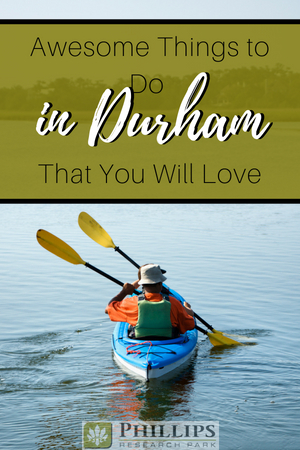 things to do in durham pin image