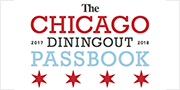 Chicago dining out passbook