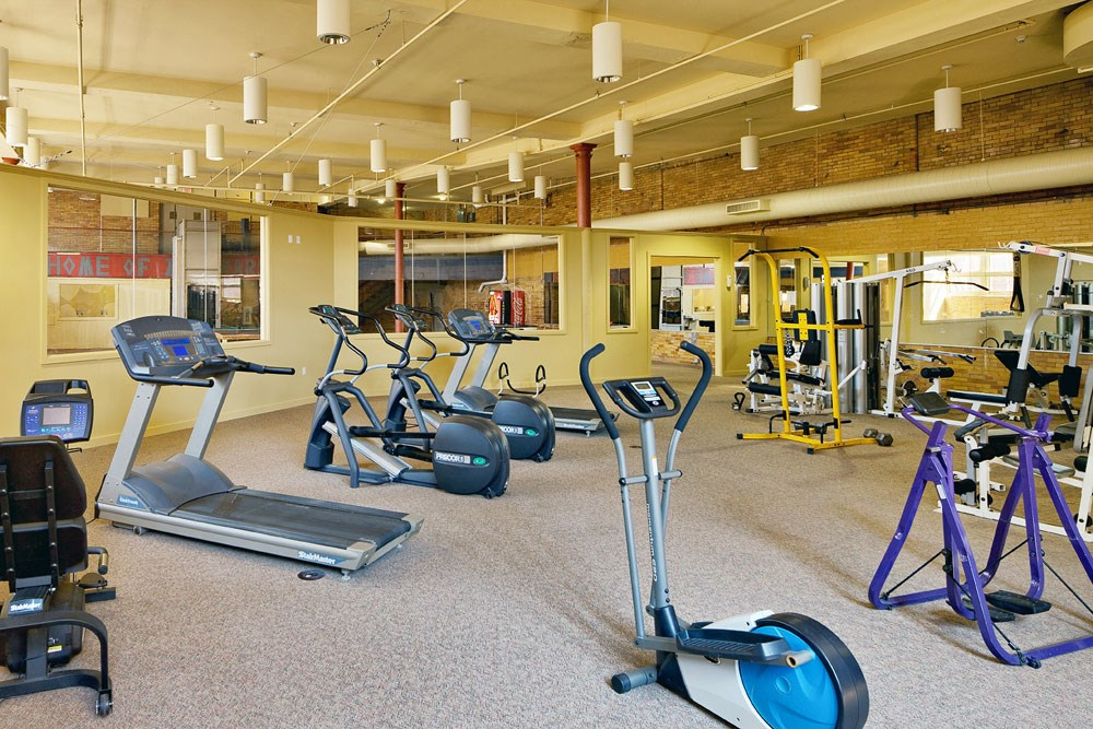Cleveland Lofts for Rent with a Fitness Center