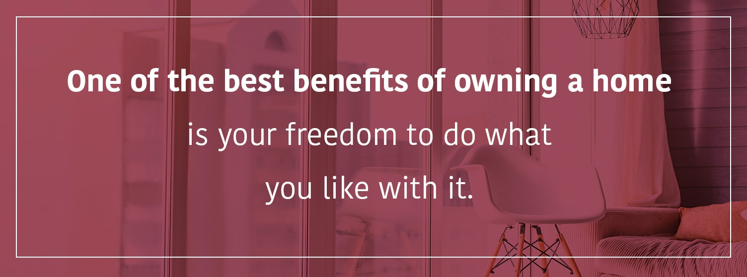 The freedom of owning your own home | Property Management, Inc.