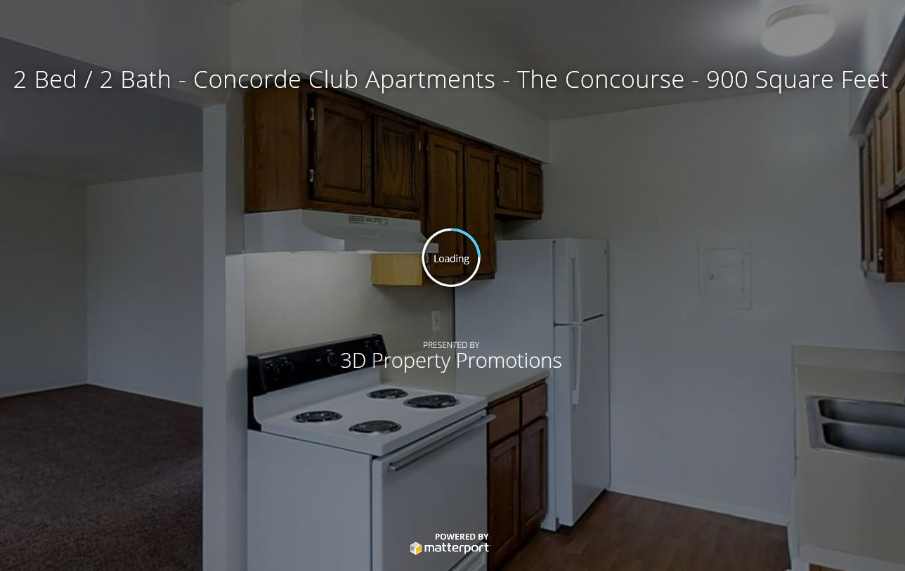 3D Tour of Concorde Club Apartments in Romulus